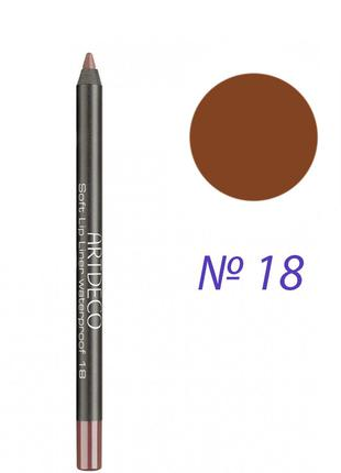 Artdeco Soft Lip Liner Waterproof Карандаш для губ 172.18 Brow...