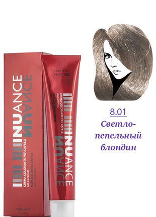 Nuance Крем-краска для волос 8.01 светло-пепельно русый