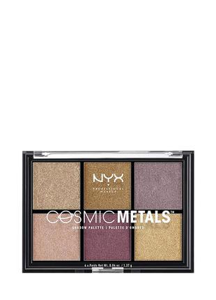 Nyx Professional Makeup Cosmic Metals Shadow Palette Палетка т...