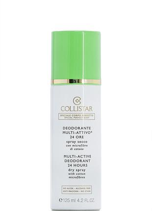 Collistar K25115 Deodorant 24 Hours Multi-Active Сухой дезодор...