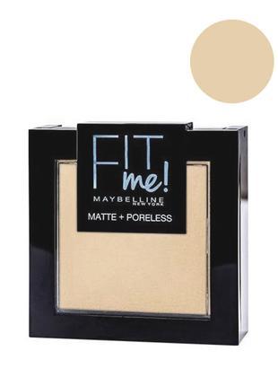 Maybelline Fit me Matte&Poreless; Powder Пудра для лица 110 po...
