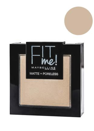 Maybelline Fit me Matte&Poreless; Powder Пудра для лица 120 cl...