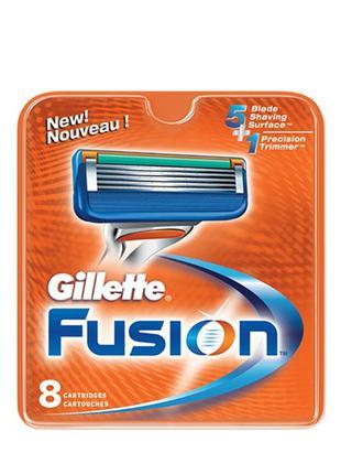 Gillette Fusion (8) Картридж сменный IAC (Colombia)