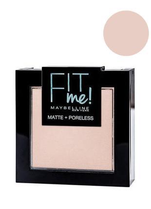 Maybelline Fit me Matte&Poreless; Powder Пудра для лица 104 so...