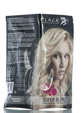 Black Bleashing Powder Порошок для осветления волос