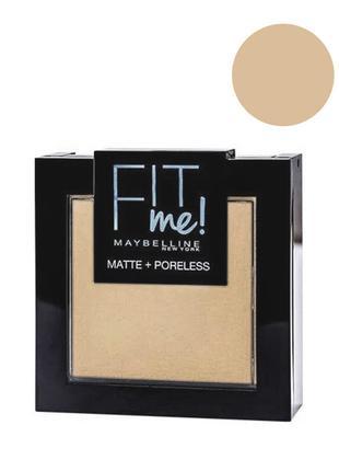 Maybelline Fit me Matte&Poreless; Powder Пудра для лица 115 ivory