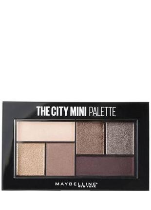 Maybelline The City Mini Palette Палитра теней д/век ( 410 )