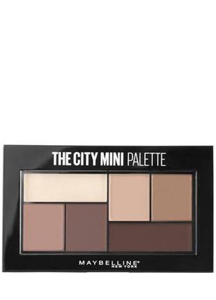 Maybelline The City Mini Palette Палитра теней д/век ( 480 )