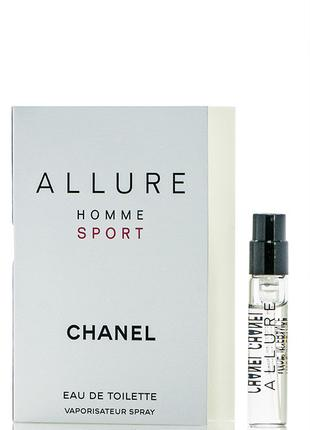 Chanel Allure homme Sport - vial spray