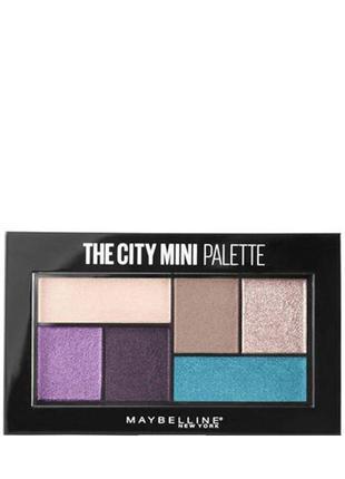 Maybelline The City Mini Palette Палитра теней д/век ( 450 )