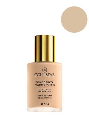 Collistar K43301 Perfect Wear Foundation SPF 10 Тональний крем...