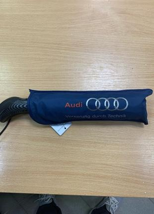 Стильный Зонт для Audi черного цвета