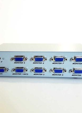 VGA-разветвитель, сплиттер Gembird GVS128 (8 портов)