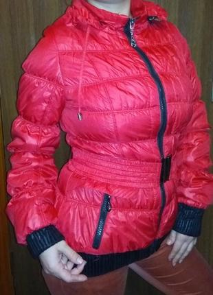 Куртка демисезонная стёганая лёгкая
