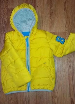 Куртка британского бренда nutmeg на флисовой подкладке