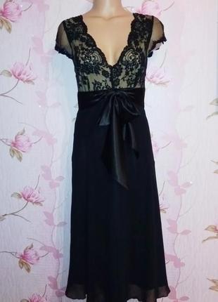 Платье нарядное вечернее немецкого бренда zero
