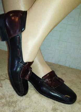 Lorenzo banfi лоферы мокасины туфли итальянского бренда