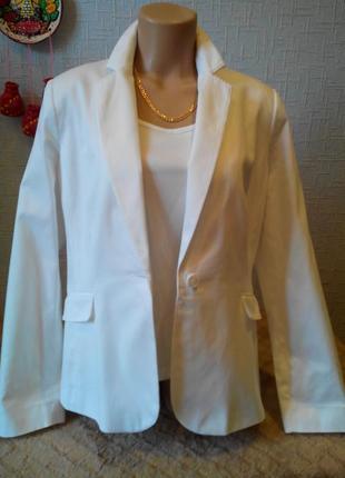 Пиджак жакет белый   yessica