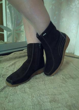 Зимние полусапожки сапоги ботинки rohde 39 размера.sympatex.на...