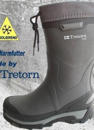 Резиновые сапоги для зимнего использования  tretorn frost