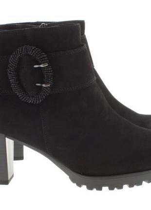 Замшевые ботильоны полусапожки ботинки gabor comfort-g