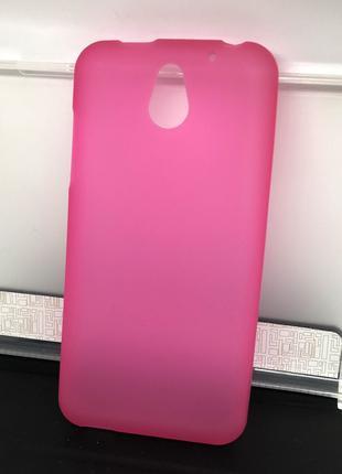 Чехол для HTC Desire 610 накладка розовый