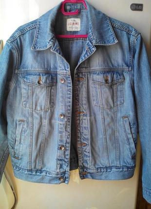Джинсовая куртка angelo litrico l.