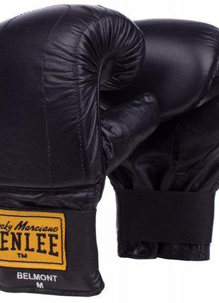 Перчатки снарядные натуральная кожа belmont benlee (195032, че...