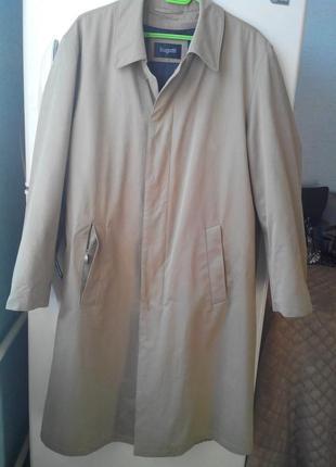 Плащ трэнч  пальто  bugatti gore-tex,на подстежке.