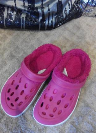 Розвантажуюсь ❤️ теплые crocs  cupcake !!!