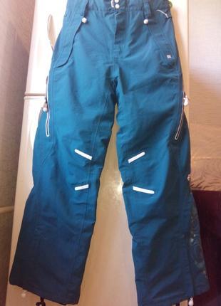 Штаны лыжные, сноубордические женские roxy. австралия. раз.  x...