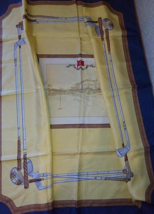 Шелковый платок lester италия