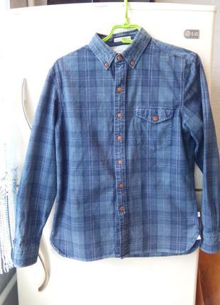 Крутая рубашка в клетку levis  коттон  клетчатая рубашка левис...