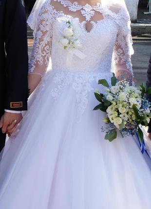 Весільна сукня+подарунок