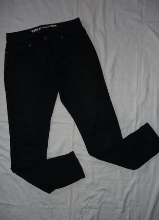 Модные мужские джинсы - скинны - зауженные джинсы - denim - s