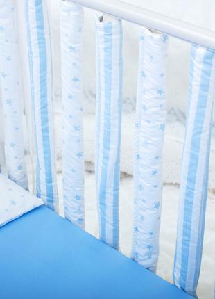 Бортики в детскую кроватку Хлопковые Традиции 15х50 см 12 шт Г...