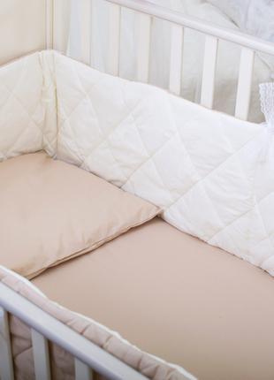 Бортики в детскую кроватку Хлопковые Традиции 180х30 см 2 шт К...