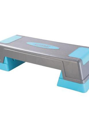 Степ-платформа LiveUp Power Step 70x27x12 см Blue-Black (LS3168C)