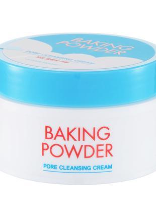 Крем для снятия макияжа Etude House Baking Powder Cleansing Cr...