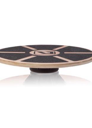 Баланс борд деревянный LiveUp Balance Board 39x7.5 см Brown (L...
