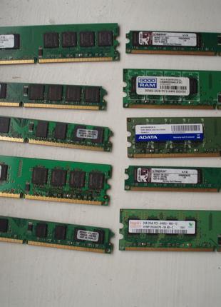 Память оперативна 2GB  DDR2  для ПК