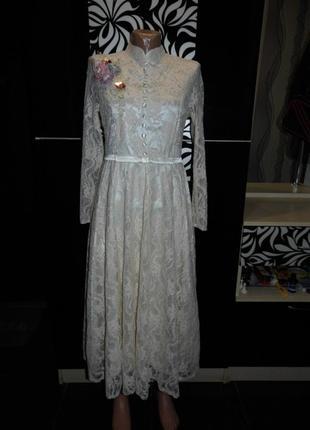 Очень нарядное свадебное платье в стиле ретро  - vshop- m  - э...