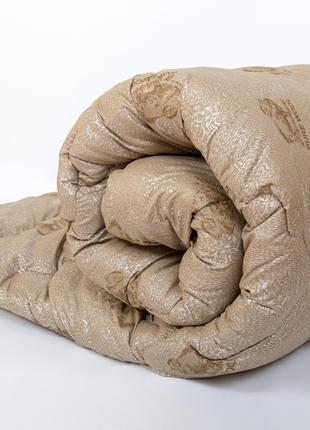 Двуспальное одеяло Черешенка™ микрофибра/шерсть №43002