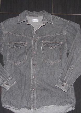 Рубашка-джинс  - sailux sportswear  - m
