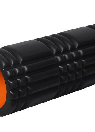 Йога роллер PowerPlay Yoga Foam Roller 4025 33 x 14 см Black-O...
