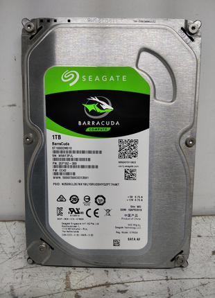 Б/У Жёсткий диск Seagate BarraCuda (ST1000DM010) 1Тб SATA