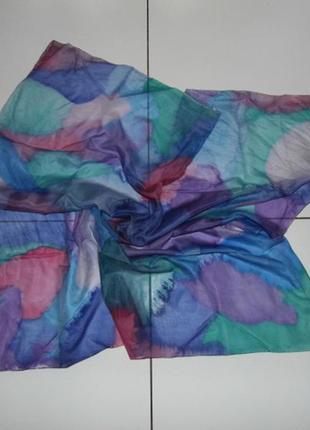 Шелковый платок на голову - 90х87 - европа - оригинал!!!