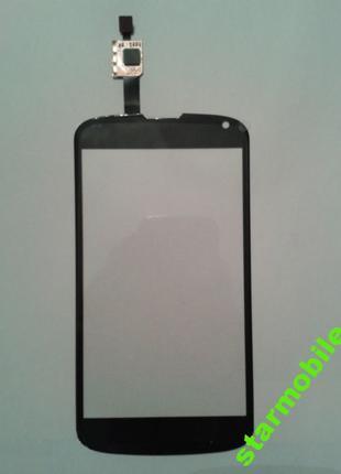 Сенсорный экран LG E960/Nexus 4, черный, ORIG