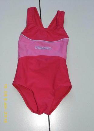 Детский цельный  купальник девочке - tribord 86/93 - 2 года - ...