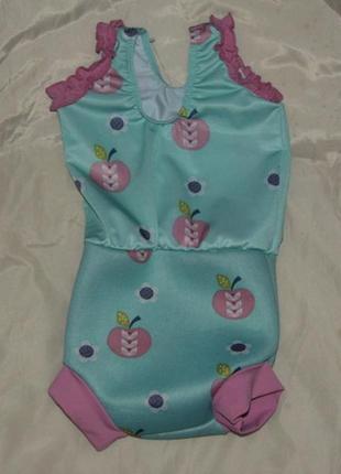 Детский купальник с неопреновым подгузником - 3-6 мес -  splas...